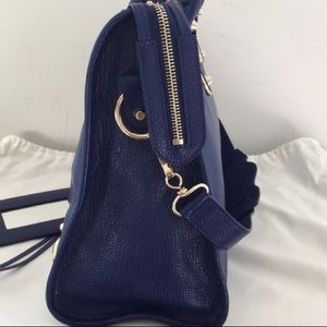 8cd7cdb49fa5 Balenciaga Bags - Balenciaga Metallic Edge Classic City Blue Goat